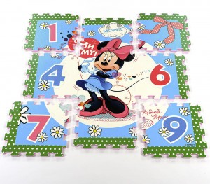 Mata puzzle Disney Mini Mouse - myszka Mini